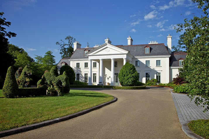 Kildare Mansion, Luxury accommodations, Irish Vacations,  Elegant Tours, Elegant  Irish Tours Ireland, Luxury holidays Ireland, vacations to ireland