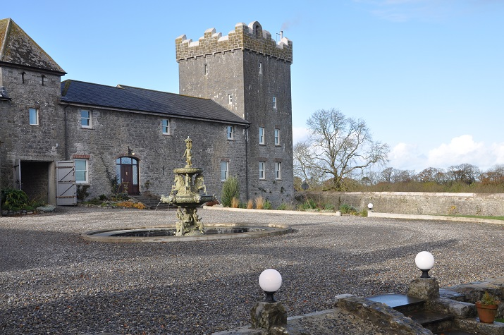 Castle Tower East Tower Courtyard, Irish Vacations, Elegant Irish Tours Ireland