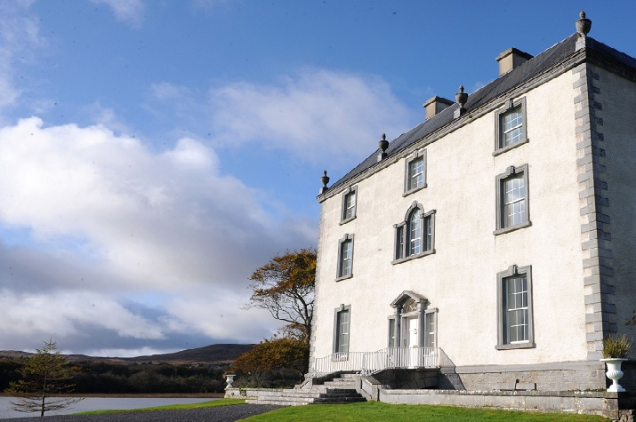 Ross Castle Co. Galway  private estate to rent Elegant Ireland
